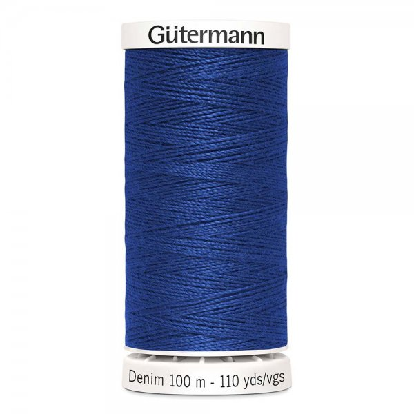 Gutermann denim jeanstrad